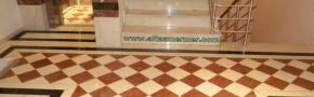 Mermer Diagonal Döşeme