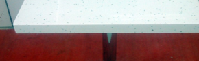Çimstone Mirat Modeli Masa Tablası. Krom Ayaklı Çimstone Yemek Masası.