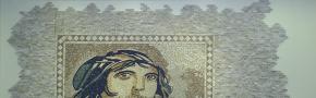 Minyatür desenli mermer mozaik duvar kaplaması, patlatma traverten mozaik, üçboyut duvar kaplama