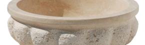 ALT - 01  (Traverten kavun dilimi mermer lavabo)