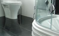 Çimstone banyo zemini ıslak zemin döşeme uygulaması. Çimstone İstanbul Kadıköy yakası uygulama merkezi Altaş Mermer ve Granit Sanayi