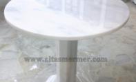 Beyaz Mermer Masa
