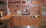 Doğal granit mutfak uygulaması.