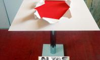 üç boyutlu masa, üçboyutlu sehpa, 3D masa tasarımları. Kişiye -firmaya özel yemek ve cafe -kahve masaları