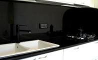 Granit mutfak tezgah bankosu ve mutfak arası kaplama uygulaması.