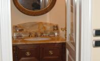 afyon bal köpüğü mermer banyo tezgahı, afyon bal mermer, mermer banyo tezgahı,  klasik mermer banyo