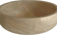 ALT - 04   ( Light Traverten mermer lavabo)