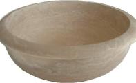 ALT-12 Mermer Banyo Evyesi / (Ölçüler : 42*15 cm)