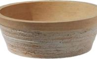 ALT-19 Taraklı Traverten Mermer Lavabo /  (Ölçüler : 42*15 cm)