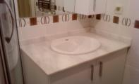 kemalpaşa beyaz mermer banyo tezgahı, beyaz gri damarlı mermer, yerli beyaz mermer , mermer banyo tezgahı, beyaz mermer banyo uygulaması