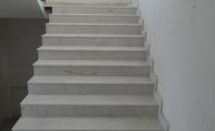 Bursa Bej Mermer Basamak-Merdiven Kaplaması