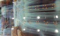 Resimli özel cam fayans modeli, Banyo duş arkası resimli fayanslar