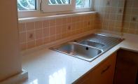 Çimstone Mirat (ayna parçacıklı) orjinal 2cm kalınlık mutfak tezgahı uygulaması. Çimstone istanbul - gayrettepe mutfak tezgahı uygulaması.