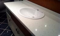 Cimstone kadıköy banyo uygulaması.Çimstone yüzeyinde kılcak çatlak barındırmaz, bu özelliği sayesinde üzerinde mikroorganizma üremesine izin vermez.Çimstone un uygulamasında tercih edeceğiniz ilk adres Altaş Granit'tir.