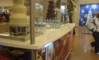 Çimstone Barants Çikolata Tezgahı Yüzey Kaplaması. Çimstone İstanbul - Bakırköy Capacity AVM uygulaması. Çimstone bar uygulaması, bar tezgahı kaplaması .Çimstone ürün uygulaması,