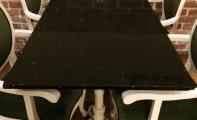 Çimstone cafe masası, çimstone yemek masası, çimstone sehpa yüzeyleri