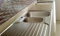 Cimstone 796 Sines Mutfak Tezgah Örneği. Çimstone Mutfak ve Banyo Bankoları için Kullanılabilecek en iyi üründür.