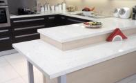 Çimstone Mirat (ayna parçalı model) Mutfak Ada uygulaması ve Çimstone mutfak yemek masası uygulaması.