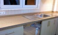 cimstone Nevers modeli mutfak tezgahı, Çimstone İstanbul - Suadiye Mutfak Tezgahı uygulaması, şık ve kullanışlı Çimstone ürünler Altaş Mermer kalitesiyle..