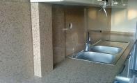 ÇiMSTONE Nevers Mutfak Tezgahı ve tezgah arası panel kaplama ,  https://evgezmesi.com/projeler/cimstone-mutfak-tezgahi-uygulamasi