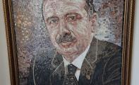 doğal mozaik duvar dekorları ve tablolar, kişiye özel mozaik çalışmaları, mozaik desenleri, doğal mozaik sanatı