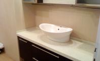ÇİMSTONE Banyo uygulamaları. çimstone Tezgah ve duvar kaplamaları. Çimstone  Corian türü ürünlere göre kat ve kat daha sert ,sağlam ve uzun yıllar sorunsuzca kullanılabilir bir üründür.