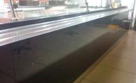 Çimstone bar tezgahı alın ve yüzey kaplaması. uygulama yeri Metroport AVM Anadoludan Restaurat