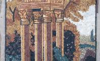 resimli mozaik, desenli mozaiktaş, taş mozaik resimler, taş uygulamalı mozaik resimler, doğal taştan resim çalışması,