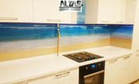 Mutfak arkası resimli cam kaplamalar Triadoor... Denize kıyı mutfaklar için sizde TRIADOOR tercih ediniz.  Yepyeni mutfak tasarımları ve  resimli mozaik uygulamalarını  ALTAŞ Granit  kalite ve güvencesiyle kulanın.