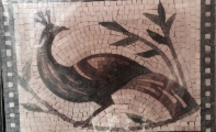 resim desenli mozaikler, resimli mermer mozaik duvar çözümleri, duvarlar için resimli mozaikler