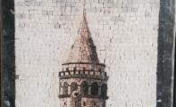 resimli traverten mozaikler, figür ve resim desenli duvar kaplamaları