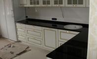 Granit Absolute Black Mutfak Tezgahı uygulaması. Doğanın insanlara armağanı GRANIT sizinde Mutfağınızda ışıldasın..