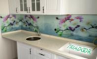 mutfak arası cam panel , mutfak arası cam mozaik, mutfak arası cam fayans.