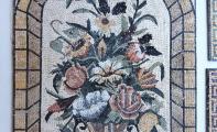 duvar ve zemin mozaik çalışması, antik dönem mozaikleri, roma ve yunan dönemi mozaik resimleri, mermer mozaik, doğaltaş mozaikler