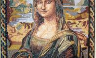 mona lisa tablosu doğal taş mozaik çalışması, dünya klasikleri tabloların mozaik uygulamaları, mozaik portre ve mozaik resim sanatı, mozaik sanatçıları istanbul, türkiye de mozaik figür ve tablo sanatı,