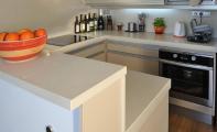 Çimstone Mutfak tezgah , çimstone ada masa,  Çimstone yemek bankosu - çimstone bar masası , çimstone tezgah arası panel uygulamalı olarak  imal edilmiştir. Çimstone mutfak ve masa yüzeyleri kadar mutfak tezgah araları için de uygulanabilen şık bir üründür.