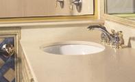 Çimstone 306 OASİS banyo tezgahı uygulaması.