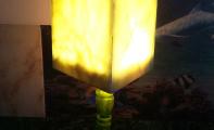 onix mermer abajur, onyx light onyx, illuminated onyx marble lampshade