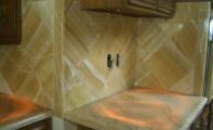 oniks mermer mutfak tezahı ve alın uyulaması, onyx mermer uyulamaları, onyx mutfak tezgahı, oniks - onyx - onix mermer
