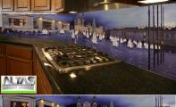 Mutfak Tezgah Arası Panel Görselleri - PANEL 090
