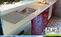Mutfak Tezgah Arası Panel Görselleri - PANEL 091