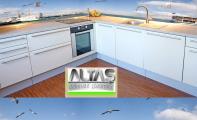 Mutfak Tezgah Arası Panel Görselleri - PANEL 116- Mutfak tezgah arası cam panel