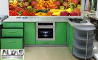 Mutfak Tezgah Arası Panel Görselleri - PANEL 112- Mutfak tezgah arası cam panel