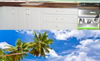Mutfak Tezgah Arası Panel Görselleri - PANEL 114- Mutfak tezgah arası cam panel