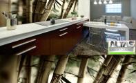 Mutfak Tezgah Arası Panel Görselleri - PANEL 115- Mutfak tezgah arası cam panel