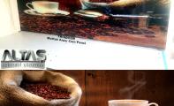 Mutfak Tezgah Arası Panel Görselleri - PANEL 118 -1  Mutfak tezgah arası cam panel