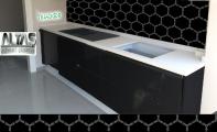 Mutfak Tezgah Arası Panel Görselleri - PANEL 121 -  Mutfak tezgah arası cam panel