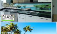 Mutfak Tezgah Arası Panel Görselleri - PANEL 009