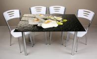 modern, estetik ve dekoratif masa ve dekoratif sehpa tasarımları. Özel bir resim tercihi ile sadece size ait masa ve sehpalar tasarlayabilirsiniz. Masa -sehpa ve konsollarınızın yüzeyini siz tasarlayın biz uygulayalım. Sınırsız renk ve manzara baskısı imkanı vardır.