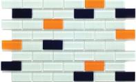 ST-04 - Kristal Cam Mozaik - Kristal cam mozaikler dekoratif duvar kaplamaları için mükemmel bir malzeme olup mutfak, banyo, yüzme havuzu, sauna, SPA ve benzer yerler için idealdir.